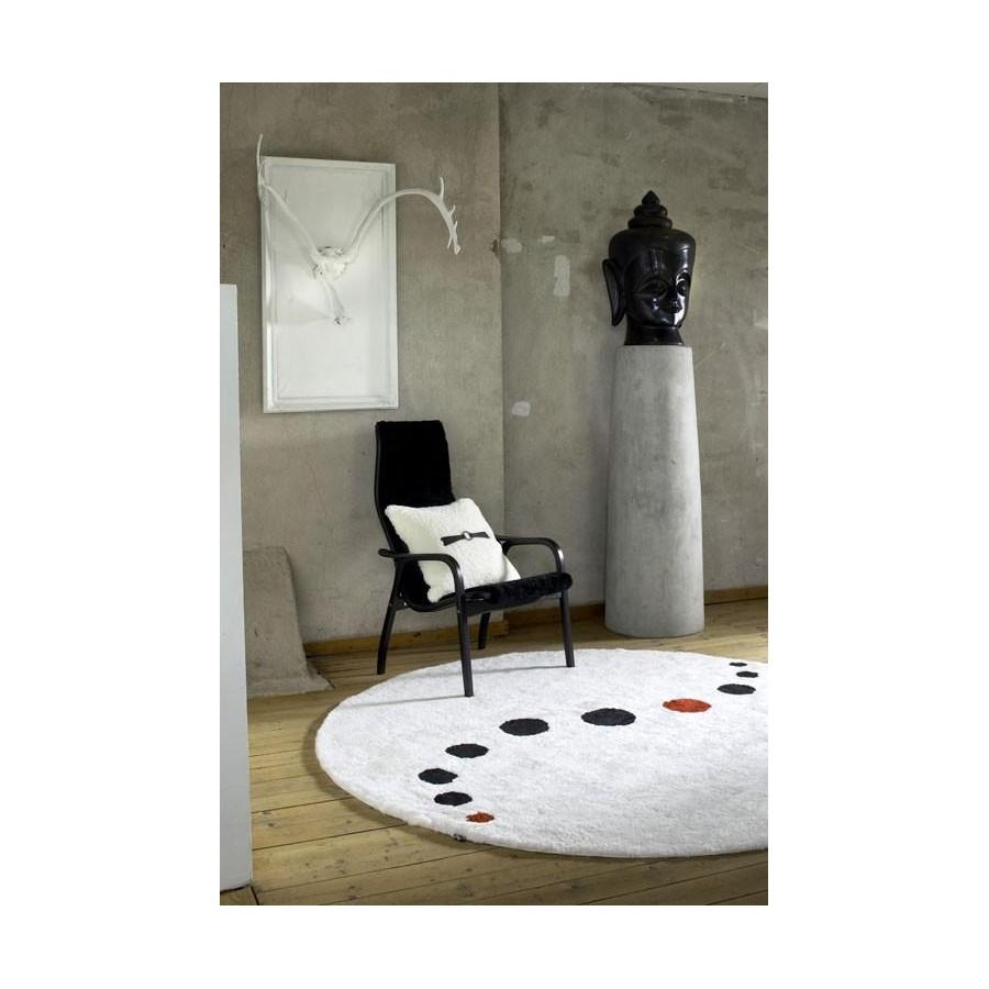 Pyöreä lampaantalja matto, 3 kokoa, 5 väriä  Mattoshop fi by BIRO
