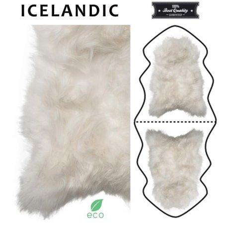 Valkoinen 180 cm lampaantalja, Icelandic x2, erikoispitkä