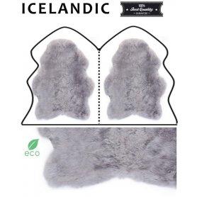 Icelandic lampaantaljamatto 2, harmaa lyhyt