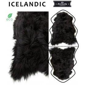 Musta lampaantalja, Icelandic x2, erikoispitkä, pitkä karva