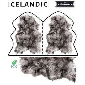 Icelandic lampaantaljamatto 2, Musta Vaalea pitkä karva