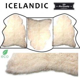Icelandic lampaantaljamatto 3, valkoinen lyhyt