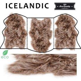Icelandic lampaantaljamatto 3, toffee pitkä karva