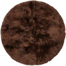 Pyöreä 140 cm lampaantalja matto