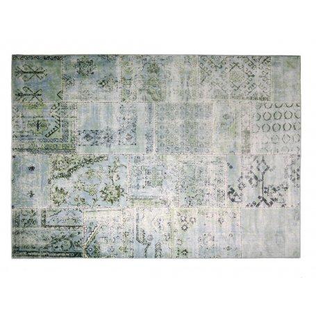 Palazzo Petrol, viskoosi matto 135x195 cm, Outlet matto. Rajoitettu erikoiserä! Vain koossa 135x195 cm, väri petrol. Ilmainen to