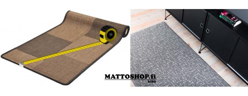 Mittojen mukaan tehty matto on aina varmasti sopiva juuri sinulle. Käytävämatto metritavarana hankittuna helpottaa sisustamista. Juuri sen pituisena, mikä käytävääsi sopii.